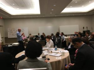 Interdisciplinary brainstorming workshop sponsored by the Crohn's and Colitis Foundation (CCFA) in New York City.