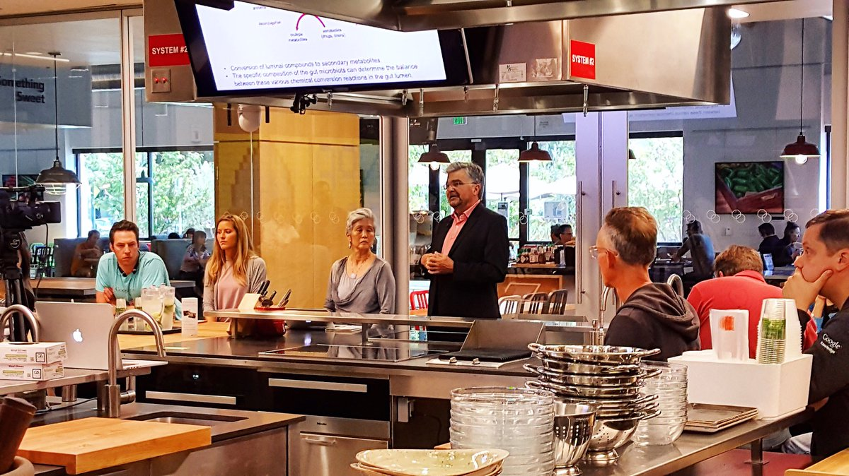 Dr. Emeran Mayer Joins Us In The Mountain View Teaching Kitchen To Present  His New Book The Mind Gut Connection And To Talk About How Our Gut And Our  Brain ...
