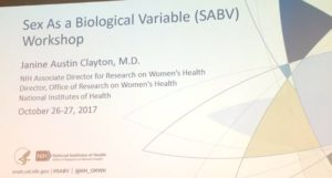 Płeć jako zmienna biologiczna: warsztaty NIH