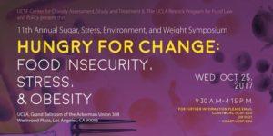 Avoir faim de changement: insécurité alimentaire, stress et obésité